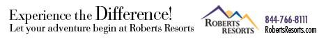 Roberts Resorts banner
